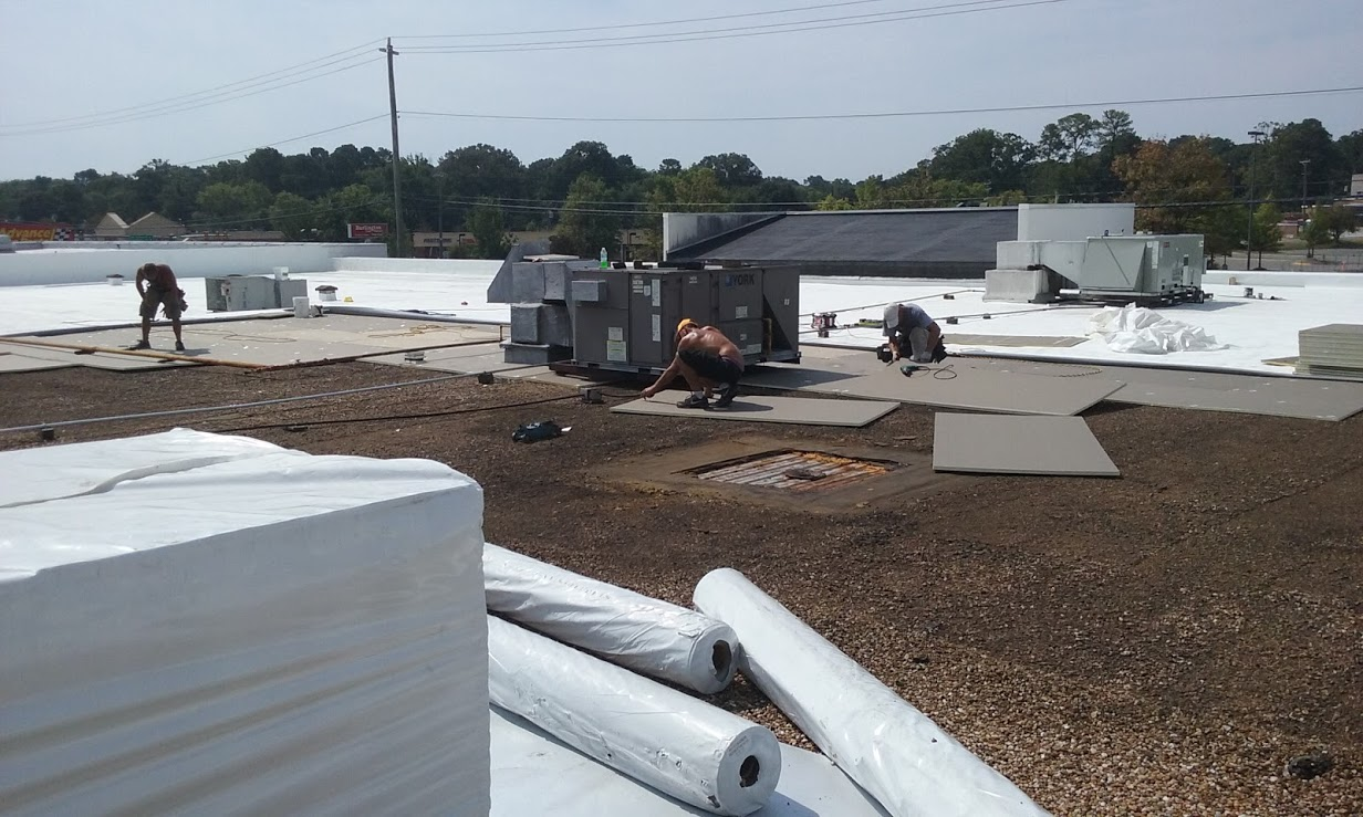 Commercial Roof Installation : Commercial roof installation richmond va