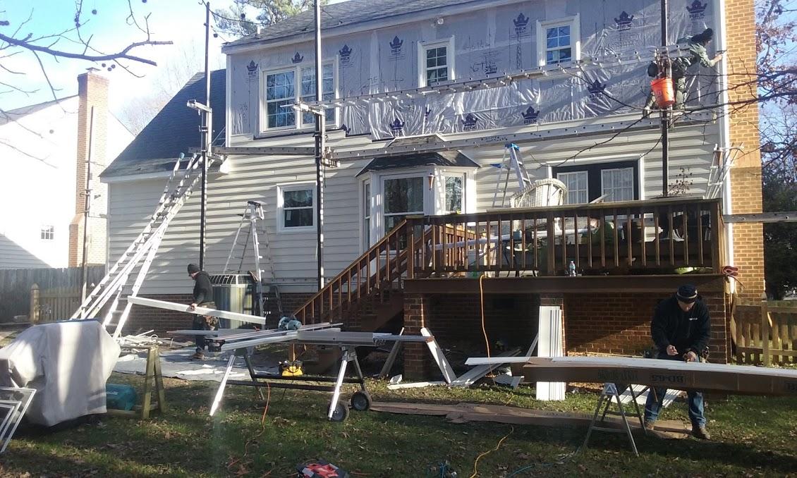 Siding Repair Contractor Richmond Va